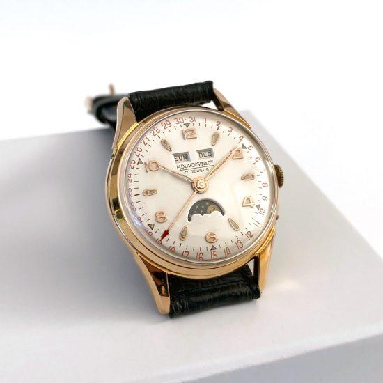 Vintage Herrenuhr H. Duvoisin & Cie